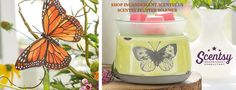 SCENTSY FLUTTER WARMER 2016New Spring Summer Catalog 2016 Order today at: www.smellarific.com and Follow me on Facebook at: www.facebook.com/smellarific.
