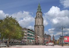 Martini tower Groningen The Netherlands
