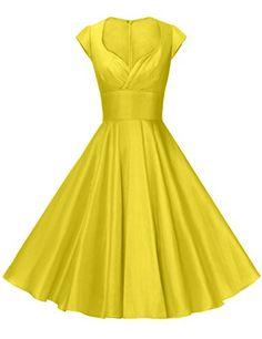 032c7ec5dd4260 GownTown Womens Dresses Party Dresses 1950s Vintage Dress... https   www