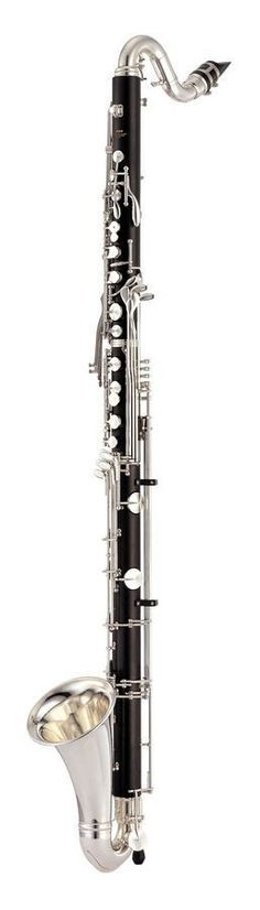 The rich warm sound of Granadilla wood is extended to low C on this top-of-the-line bass clarinet. Yamaha Professional Harmony Clarinets are made from grenadilla wood with metal tenon sleeves for impr