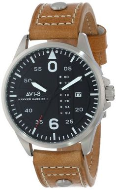 AVI-8 Men's AV-4003-02 Hawker Harrier II Analog Japanese-Quartz Brown Watch AVI-8,http://www.amazon.com/dp/B00FR6ZYMG/ref=cm_sw_r_pi_dp_Z4Cntb19TS9PVYXR