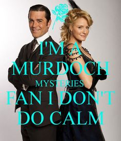 I am a Murdoch Mysteries fan! I don't calm down! Detective, Mystery Tv Shows, Murdock Mysteries, Cinema, Film Serie, Favorite Tv Shows, Movies And Tv Shows, Movie Tv, Pop Culture