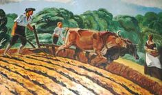 Farmers were another human resource. They often depended on family members for labor.