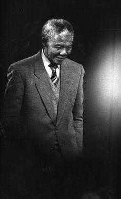 Nelson Mandela un gran líder al que respeto.