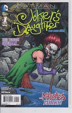 Batman JOKER'S DAUGHTER #1 DC Comics NEW 52 One Shot