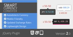 Smart Currency Converter jQuery Plugin - http://wareznulled.com/smart-currency-converter-jquery-plugin/