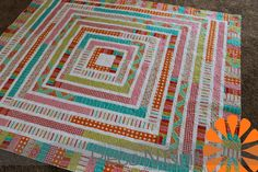 Great use of a Jelly Roll that you are not loving. Much better than the 1600 pattern, IMHO. Piece N Quilt: Jelly Roll Quilt