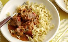 Slow Cooker Beef Paprikash Recipe by Food Network Kitchens