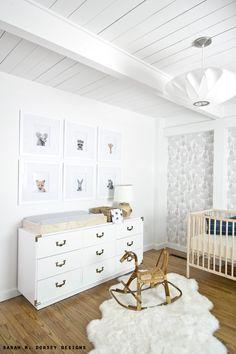 sarah m. dorsey designs: Nursery Peek | Michaels Makers July Challenge