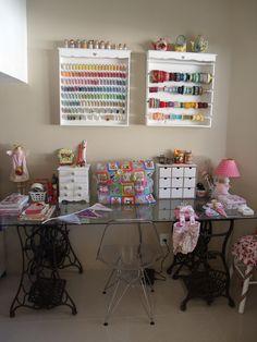 Meu craft room Dani Terra