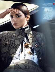 Kendall Jenner by David Sims for Vogue US January 2015