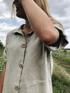 Flax Plant, Jane Clothing, Affordable Clothes, Linen Dresses, White Tees, Custom Clothes, Custom Made, Shirt Dress, Clothes For Women