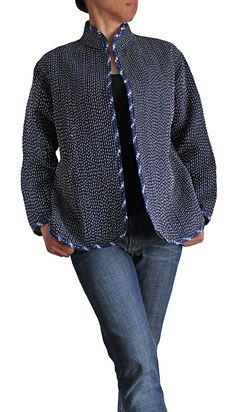 Organic cotton Embroidery Coat - wonderful catalog of asian-inspired clothing: http://www.sawaninternational.com/