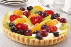 Καλοκαιρινή τάρτα με κρέμα μασκαρπόνε και πανδαισία φρούτων