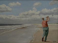 golfer aan zee Capri Pants, Beach, Water, Outdoor, Gripe Water, Outdoors, Capri Trousers, The Beach, Beaches