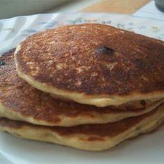 Oatmeal and Wheat Flour Blueberry Pancakes - Allrecipes.com