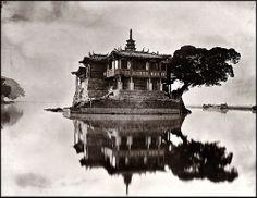 Island Temple On The River Min Near Foochow, Fukien Province, China [1870-1871] John Thomson
