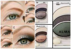 How to - Almay Eyeshadows  #Eyes #Eyeshadow