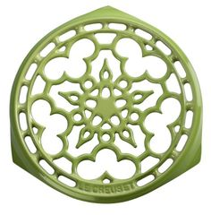 Le Creuset Enameled CastIron 9Inch Deluxe Round Trivet Palm -- Be sure to check out this awesome product.Note:It is affiliate link to Amazon.