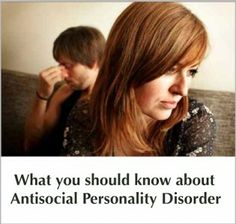 What you should know about Antisocial Personality Disorder