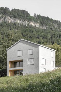 ARCHITEKT Daniel Ellecosta, Gustav Willeit · Haus am Hörmannweg