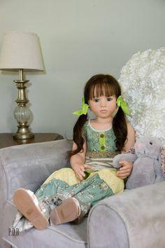 CUSTOM ORDER / Made To Order Reborn Toddler Doll Aloenka Child