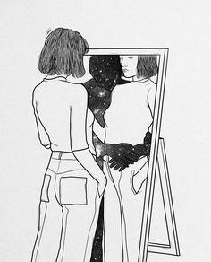 Digital designer and illustrator Muhammed Salah. Muhammed Salah is a 27 years old artist, illustrator, art director, digital designer and graphic designer. Sad Drawings, Cool Art Drawings, Art Drawings Sketches, Art Triste, Muhammed Salah, Deep Art, Sad Art, Aesthetic Art, Love Art