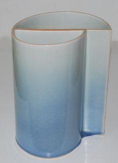 Richard Manz, Denmark, vase in porcelain.