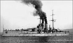 Austro-Hungarian battleship SMS Prinz Eugen in 1913