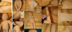 WALDORF DOLL TUTORIAL - Body of the Waldorf doll (head of 25 cm of diameter). Prepare the jersey on the table, put it in double with the back to the outside and the ribs vertically, place the pattern...