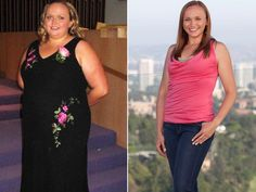 """Name: Amanda Blaine Age: 27 Height: 5'8"""" Before Weight: 300 pounds After Weight: 165 pounds"""