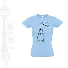 Damen T-Shirt  'Nö'  von RaketeBerlin auf DaWanda.com