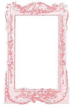 free printable frame template: