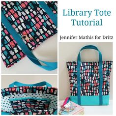 how to make a library bag
