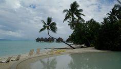 InterContinental Bora Bora Le Moana Resort Pool