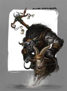 Alkha Goatchaser by rzanchetin.deviantart.com on @DeviantArt