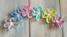 (crochet) How To Crochet Flower Chains - Yarn Scrap Friday