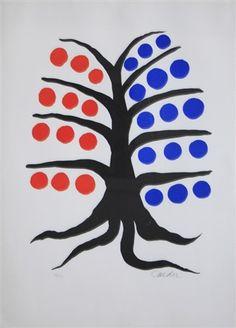TREES IN ART • L'ARBRE DANS L'ART | Alexander Calder (Am., 1898–1976),...