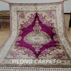 Yilong Silk Rug Factory. 7th Anniversary Sale !!!  7th Anniversary Sale will beginning at March.28th on our aliexprees shop. You can buy this beautiful handmade Persian silk rug on our aliexpress shop directly. For more nice new silk rug designs, please visit: https://yilongcarpet.aliexpress.com/store/301053 Contact Ms. Sally for more details or support. Email: alice@yilongcarpet.com Whatsapp: +8615638927921