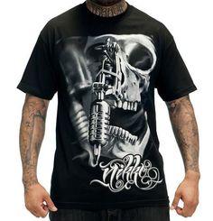 Sullen Art Collective Querida Muerta Black Mens Tattoo Tee Shirt 3-3xl New Uk