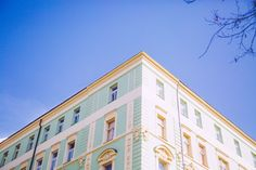 Vinohardy Multi Story Building, Visit Prague, Travel