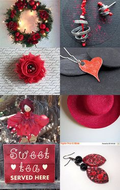 Black and Red by Tania on Etsy--Pinned with TreasuryPin.com