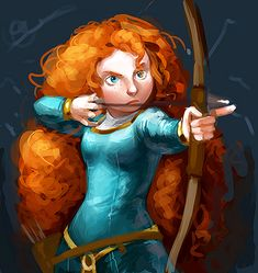 Brave is a featured movie from Disney/Pixar featuring the story and adventure of Princess Mérida. She is a Scottish Princess who loves archer and unintentionall Merida Cosplay, Disney Cosplay, Disney And Dreamworks, Disney Pixar, Brave Disney, Princess Merida, Real Princess, Brave 2012, Atlantis The Lost Empire