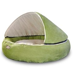 Wildforlife Luxury Cozy Round Cave Bed for Small Dogs and Cats Medium Green *** Check out this great product. Cat Lover Gifts, Cat Gifts, Cat Lovers, Cat Training Pads, Training Your Dog, Dog Cave, Dog House Bed, Cute Dog Collars, Cat Shedding