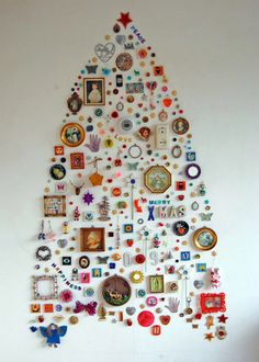 Quite possibly the coolest christmas tree ever.