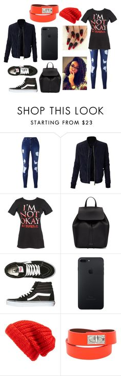 """My Chemical Romance Outfit [from the We Like It Too collection]"" by the-0ne-and-0nly on Polyvore featuring LE3NO, Mansur Gavriel, Vans, Hinge and Givenchy"