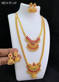 Please Watsapp 8148871715 for queries and orders. #jewelry #jewelrydesigner #bridaljewelry #templejewelry #onegramgoldjewelery #fashionjewellery #jewelryset #mattejewelry #imitationjewelry #southindianjewelry #haram #jewelrystore #jewelrysale #jewelrygifts #jeweleryfashion #jewelrydesign #instajewelry #Musthavejewelery #pendant #handmadejewelry #Bracelet #necklace #malajewellery #germansilver #oxidisedjewelry #bridaljewelry #accessories #design #earrings #handmade #southbridal… 1 Gram Gold Jewellery, Temple Jewellery, Gold Jewelry, Jewelery, Bridal Jewelry, Jewelry Gifts, Earrings Handmade, Handmade Jewelry, South Indian Jewellery