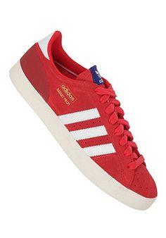 ADIDAS Basket Profi Lo vivid red s13/running white ftw/ecru