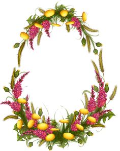 "Photo from album ""Полевые цветы"" on Yandex. Spring Projects, Art Projects, Page Borders Design, Easter Backgrounds, Wood Burning Tips, Flower Clipart, Elements Of Art, Easter Wreaths, Easter Crafts"