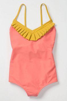 Pink Lemonade Maillot #anthropologie